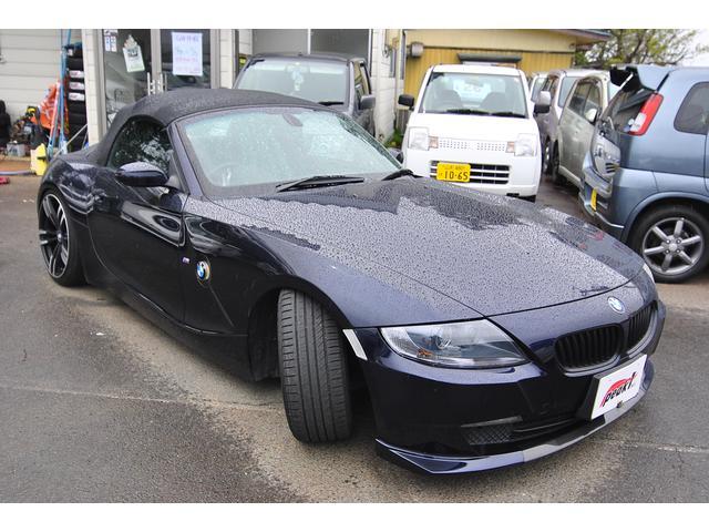 BMW BMW Z4 ロードスター 後期 本革シート シートヒーター 車高調