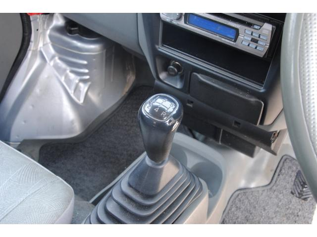 ハイルーフDX 4WD 5速 Tベル済み3年間走行無制限保証(17枚目)