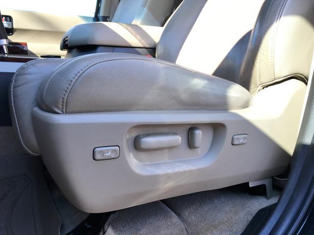 プラチナム V8 4WD サンルーフ 革 26インチAW(13枚目)