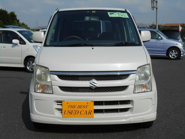 スズキ ワゴンR FX-Sリミテッド 4WD ABS キーレス Tベルチェーン