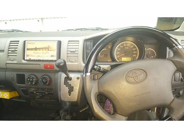 トヨタ ハイエースバン ロングDX ローダウン 5ドア HID TCMショック