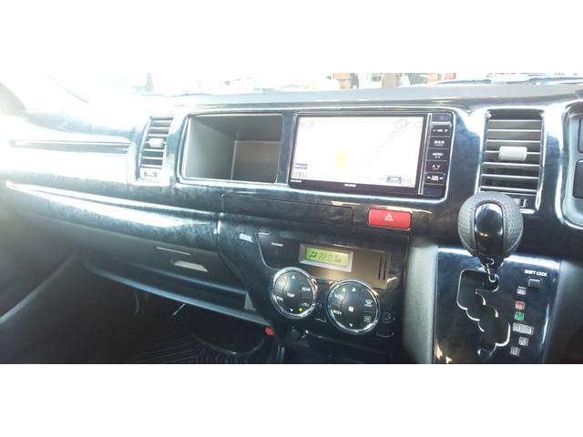 GL 4WD 新規ローダウン 新品COBRA17インチ 新品COBRAバッドフェイス ナビ フリップダウン ETC 新品ダズフェロウズ 新品COBRAオーバーフェンダー TCMダンパー デフ上げKIT装着(23枚目)
