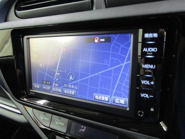 トヨタ アクア S メモリーナビ バックカメラ
