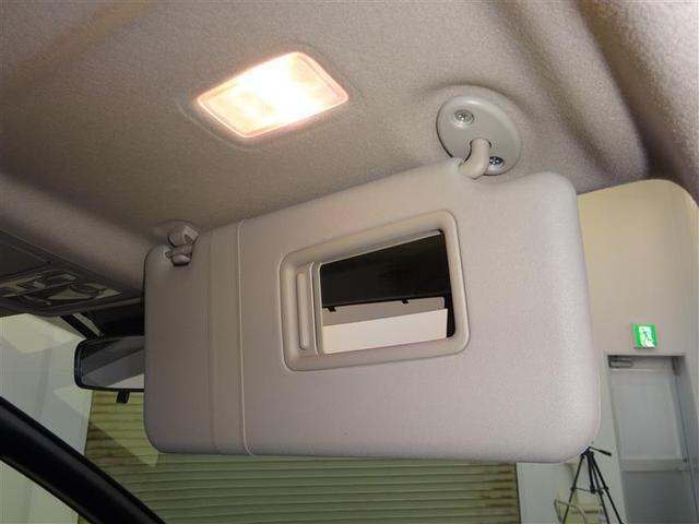 サンバイザーにはライト点灯機能付きミラー!お顔チェックでさぁ出かけるぞ♪