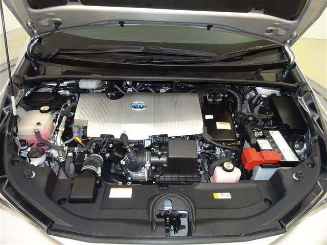 優れたハイブリッドパワートレーンを搭載。1.8Lエンジンとモーターを高次元で協調させ、滑らかで上質な走りです!エンジンルームまでピカピカに仕上げているのがトヨタカローラ秋田の中古車です!