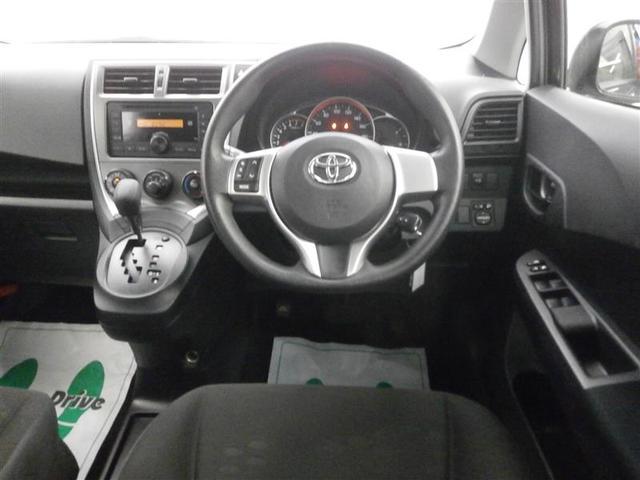 トヨタ ラクティス X CD キーレス エアバック エアコン