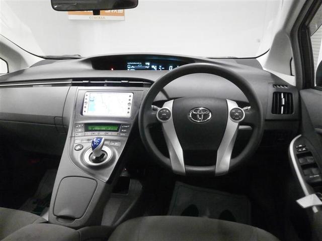トヨタ プリウス S バックモニター メモリーナビ ワンセグ ETC CD