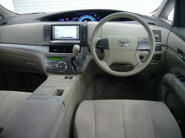 トヨタ エスティマハイブリッド X 4WD バックモニター 片側パワースライドドア ナビ