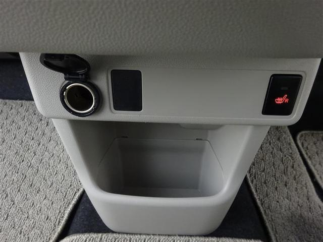 シートヒーター付きのフロントシート!シートヒーターは長時間の運転で負担のかかりやすい腰、冷房中に冷えやすい足を温めます♪
