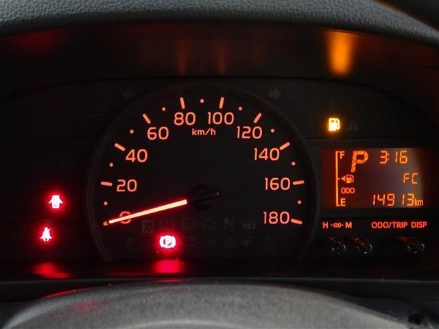 昼間でもくっきり見やすいスピードメーター♪外気温表示で道路の凍結状況も参考にできます♪