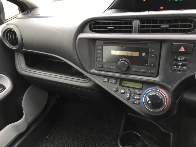 トヨタ アクア キーレス ETC CD 電動格納ミラー Wエアバック