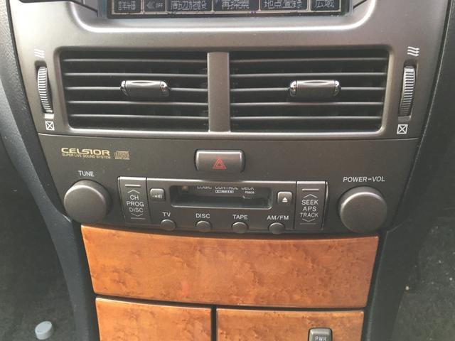 トヨタ セルシオ キーレス TV ナビ パワーシート シートヒーター CD