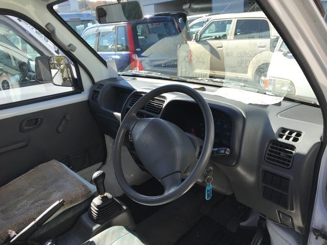 4WD MT 軽トラック ホワイト(5枚目)