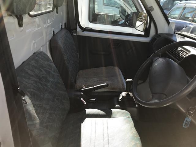 4WD MT 軽トラック ホワイト(6枚目)