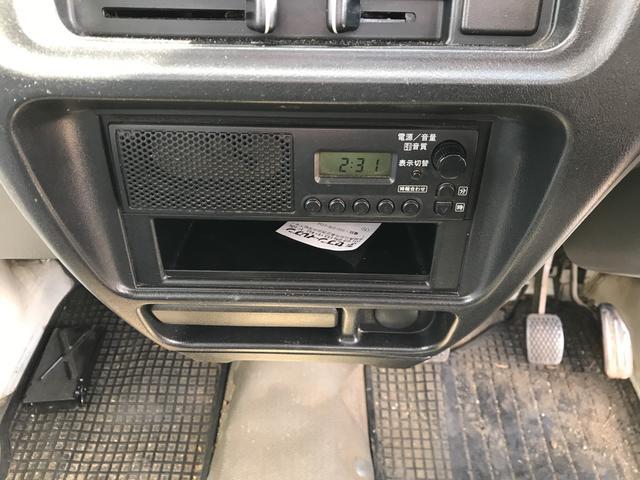 4WD MT 軽トラック ホワイト(10枚目)