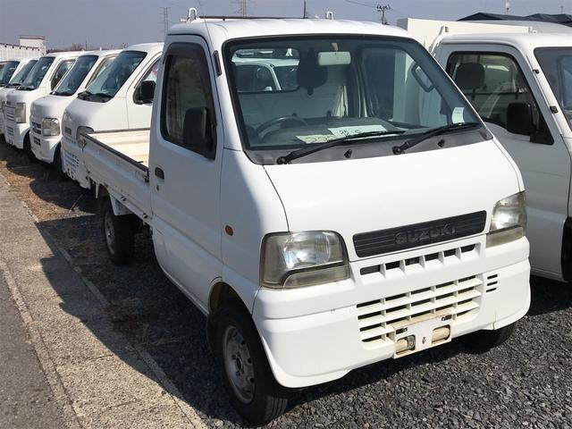 4WD MT 軽トラック ホワイト(3枚目)