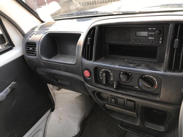 4WD MT 軽トラック ホワイト(9枚目)