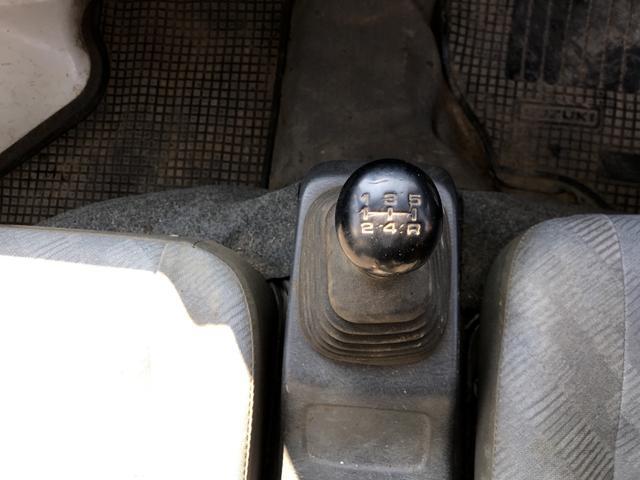 4WD MT 軽トラック ホワイト(12枚目)