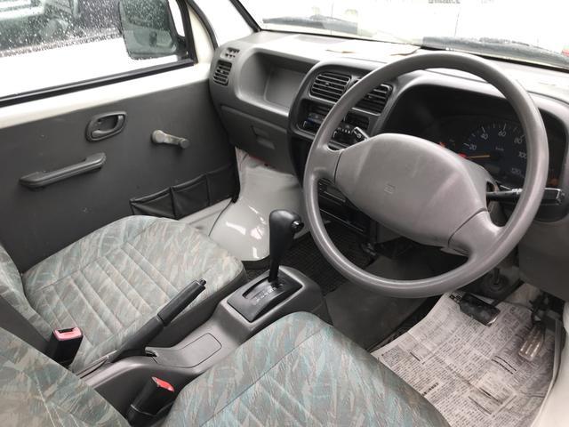 4WD AT 軽トラック オーディオ付 ホワイト(5枚目)