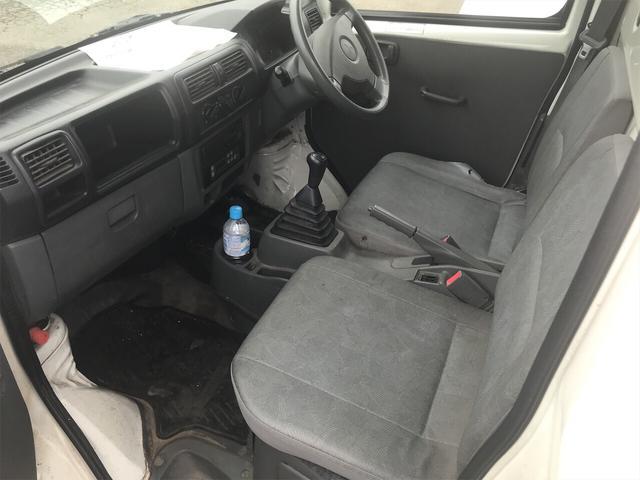 4WD エアコン マニュアル 軽トラック ホワイト(12枚目)