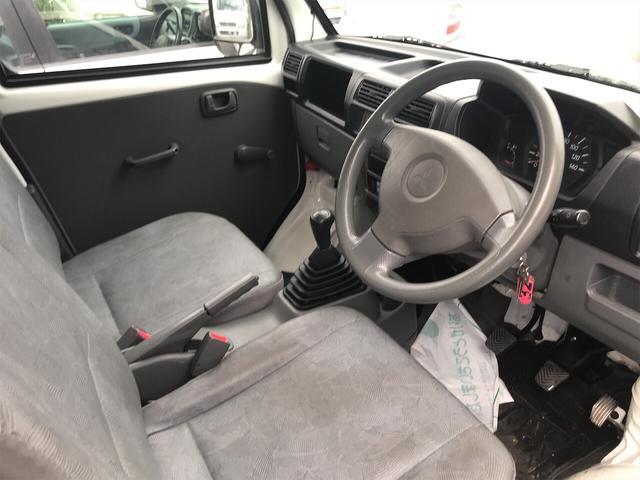 4WD AC MT 軽トラック オーディオ付 ホワイト(8枚目)