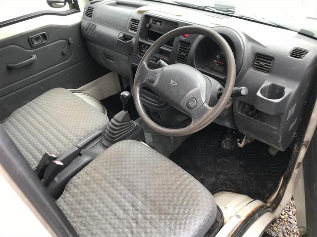 4WD エアコン 5速マニュアル 軽トラック ホワイト(3枚目)