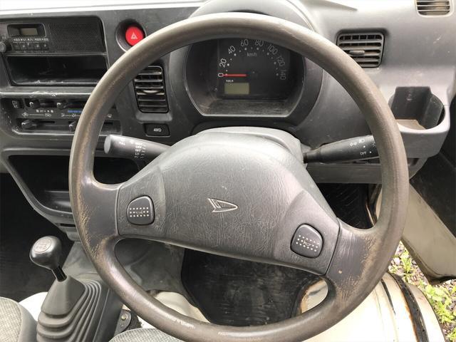 4WD エアコン 5速マニュアル 軽トラック ホワイト(6枚目)
