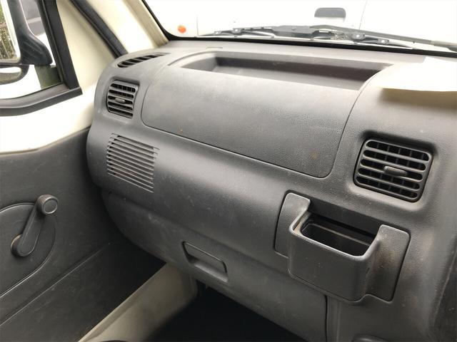 4WD エアコン 5速マニュアル 軽トラック ホワイト(10枚目)