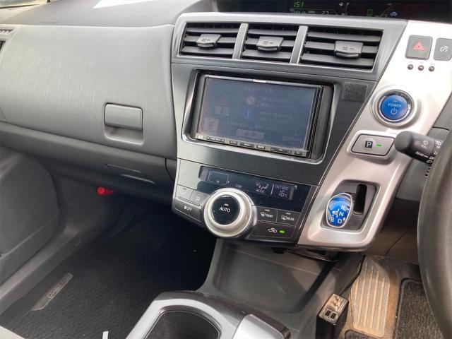 S ナビ CVT AW ETC スマートキー オーディオ付 ブラック AC 後席モニタ 7名乗り(11枚目)