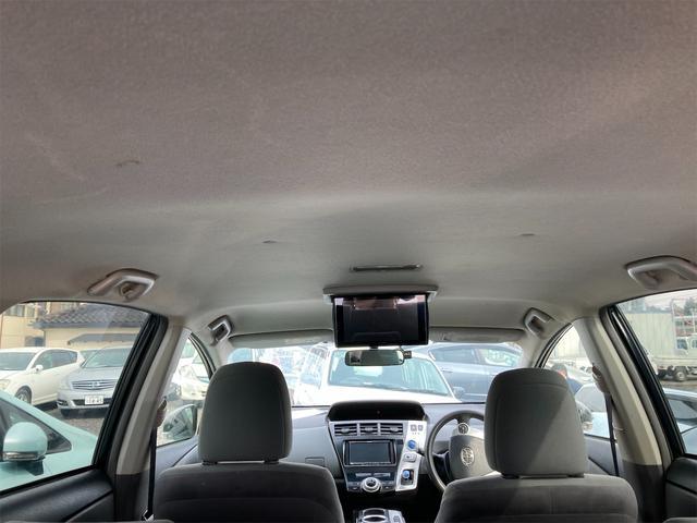 S ナビ CVT AW ETC スマートキー オーディオ付 ブラック AC 後席モニタ 7名乗り(17枚目)