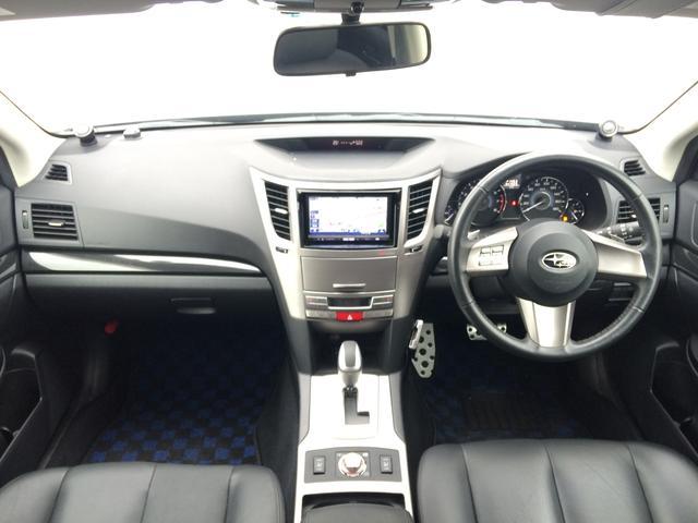 スバル レガシィツーリングワゴン 2.5GT Sパケ HDDフルセグナビ 車高調 リアモニター