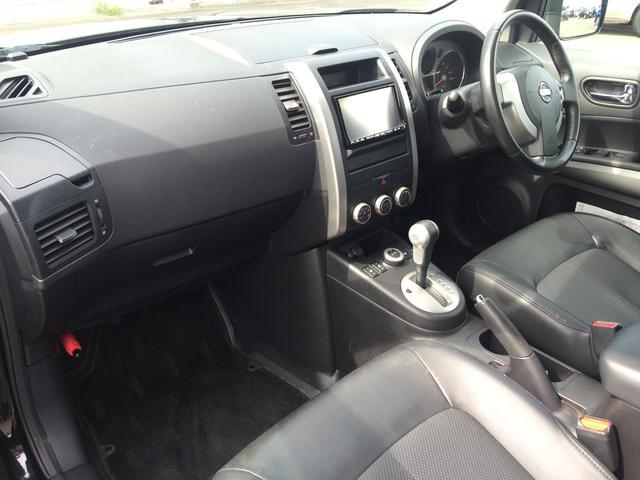 日産 エクストレイル 20Xtt 4WD 純正フルセグHDDナビ カプロンシート