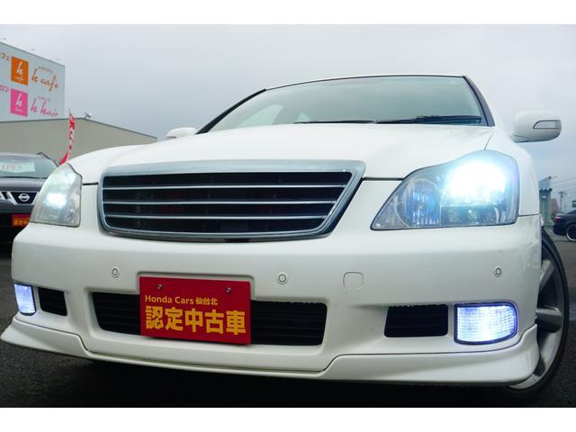 トヨタ クラウン アスリートi-Four ブラックレザーシート 純正HDDナビ