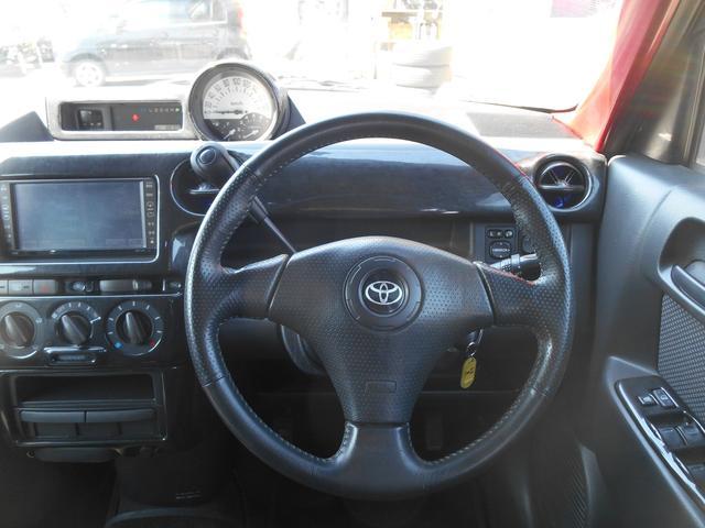トヨタ bB Z Xバージョン HDDナビ クスコ車高調 純正エアロ
