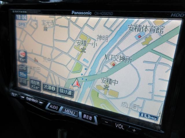 トヨタ ヴィッツ RS 5MT 社外HDDナビ TV HID エアロ 修復歴無