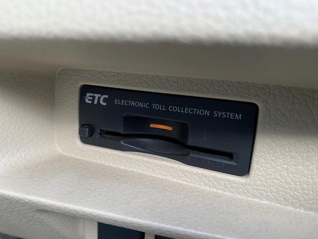 今では当たり前となっているETCも始めからついているのは便利ですね♪高速道路の料金所などスムーズに通過できますので利便性◎です♪