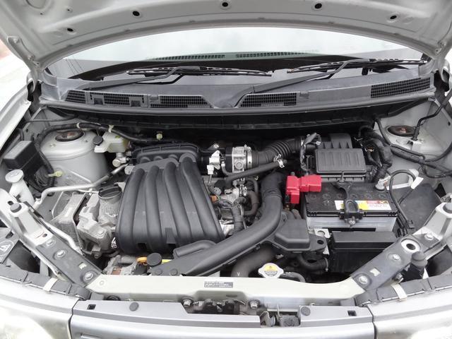 安心のタイミングチェーン車です!エンジンルームもきれいな状態です!