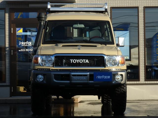 「トヨタ」「ランドクルーザー70」「SUV・クロカン」「宮城県」の中古車4