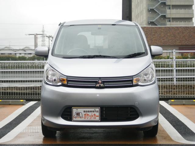 三菱 eKワゴン M アイドリングストップ キーレス スモークガラス 保証付