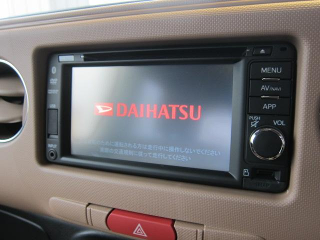 ダイハツ ミラココア ココアプラスXリミテッド 4WD 純正SDナビ 地デジ
