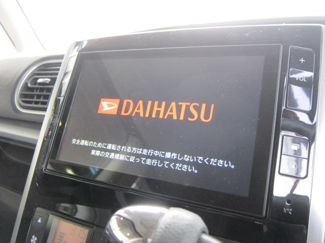 ダイハツ タント カスタムX SA 純正8型ナビ フルセグ 電動スライド