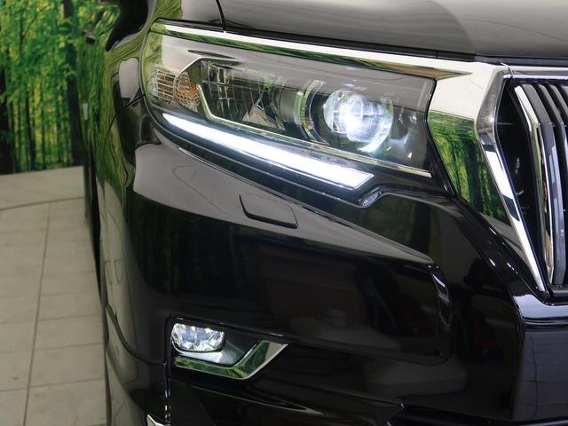 TX 登録済未使用車 ディーゼル モデリスタエアロ ルーフレール インテリジェントクリアランスソナー トヨタセーフティセンス LEDヘッド LEDフォグ レーダークズール(9枚目)