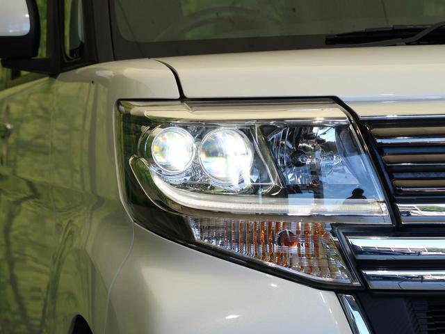 カスタムX トップエディションSAII 純正9型SDナビ 禁煙車 スマートアシスト 電動スライドドア バックカメラ Bluetooth接続 横滑り防止 ETC スマートキー LEDヘッド オートライト オートエアコン ハーフレザーシート(43枚目)