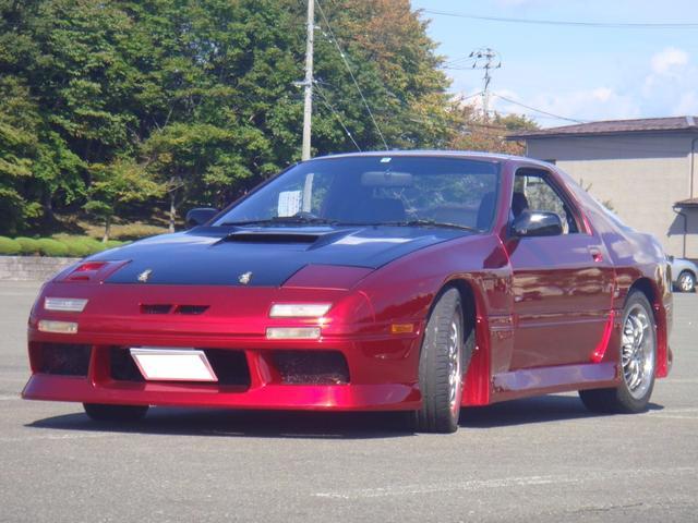 マツダ サバンナRX-7 GT-X 5MT HID フルエアロ ライトチューン