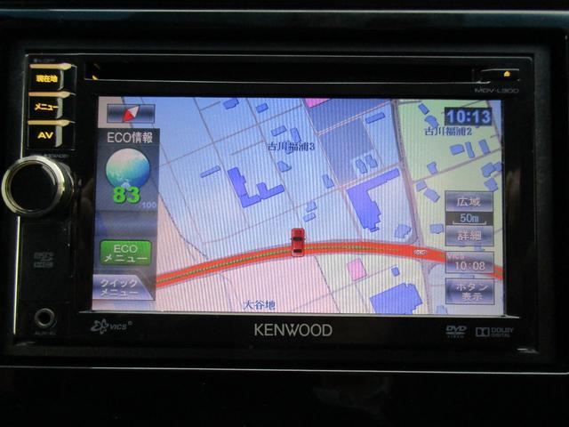 13G・Fパッケージ 4WD アイドリングストップ ナビTV(9枚目)