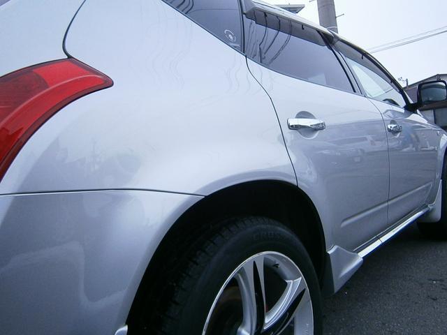 日産 ムラーノ 350XV 4WD 黒革シート 社外20インチアルミ