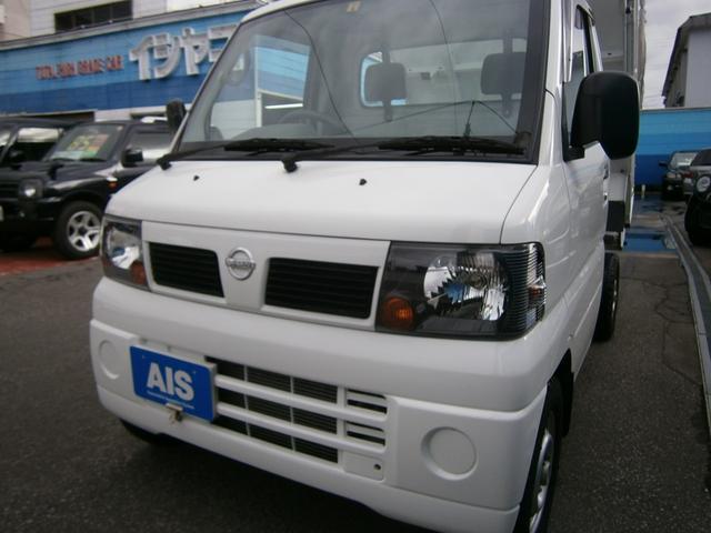 日産 クリッパートラック PTO式低床ダンプ 三方開 エアコン パワステ メーカー特装