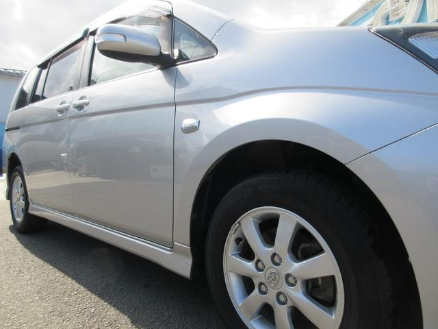 プラタナ Uセレクション 4WD 両側パワースライドドア パワーバックドア 新品夏用タイヤ付き 純正HDDナビ 純正バックモニター フルセグTV CD録音再生&DVD再生 SDオーディオ対応 ボタン切替式パートタイム4WD(18枚目)