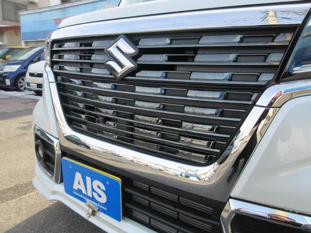 ハイブリッドXSターボ 4WD 全方位モニターパッケージ デュアルセンサーブレーキ&スズキセーフティサポート 寒冷地仕様 届出済未使用車 両側パワースライドドア ヘッドアップディスプレイ コーナーセンサー シートヒーター(8枚目)