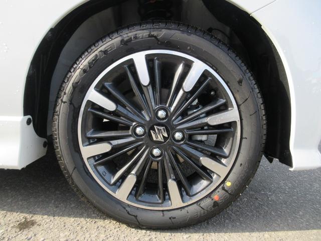 ハイブリッドXSターボ 4WD 全方位モニターパッケージ デュアルセンサーブレーキ&スズキセーフティサポート 寒冷地仕様 届出済未使用車 両側パワースライドドア ヘッドアップディスプレイ コーナーセンサー シートヒーター(14枚目)